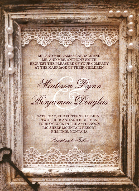 Rustic Wedding Invitation Templates Lovely 28 Rustic Wedding Invitation Design Templates Psd Ai