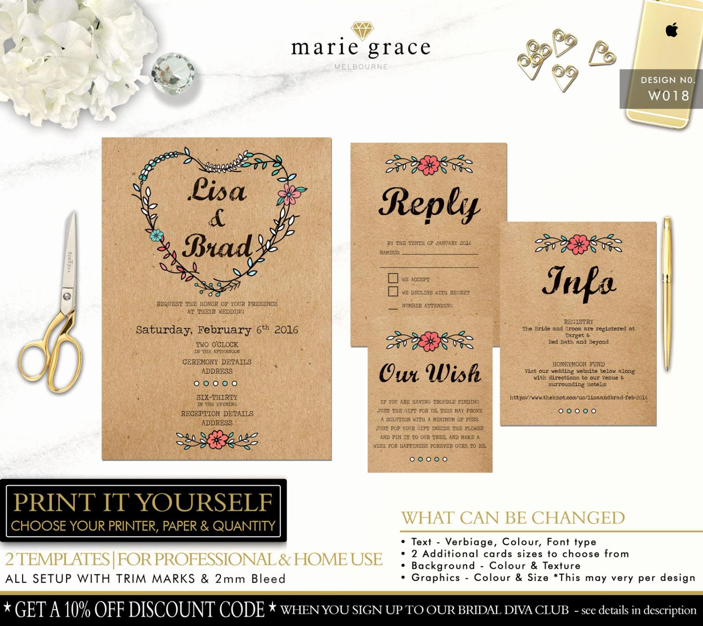 Rustic Wedding Invitation Templates Luxury Wedding Invitation Templates Rustic Wedding Invitations