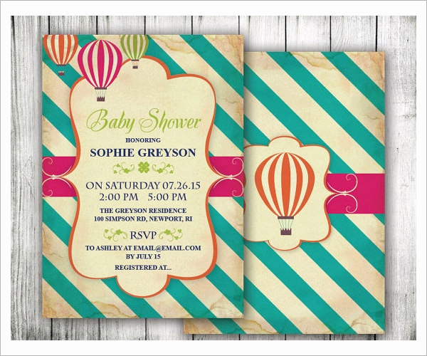 Sample Baby Shower Invitation Beautiful 25 Sample Printable Baby Shower Invitation Templates