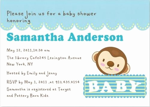 Sample Baby Shower Invitation Inspirational How to Write Your Baby Shower Invitation Wording