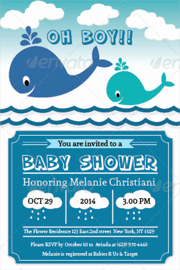 Sample Baby Shower Invitation Lovely 53 Baby Shower Invitations Designs Psd Ai Word Eps