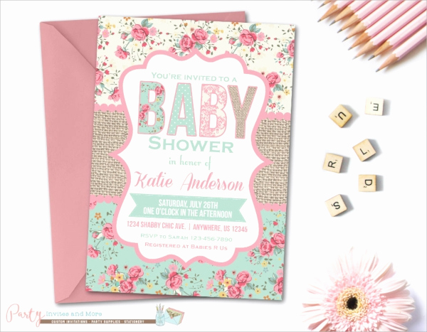 Sample Baby Shower Invitation Luxury 25 Sample Baby Shower Invitations Word Psd Ai Eps