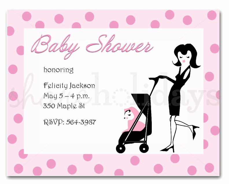 Sample Baby Shower Invitation Luxury Sample Invitations for Baby Shower