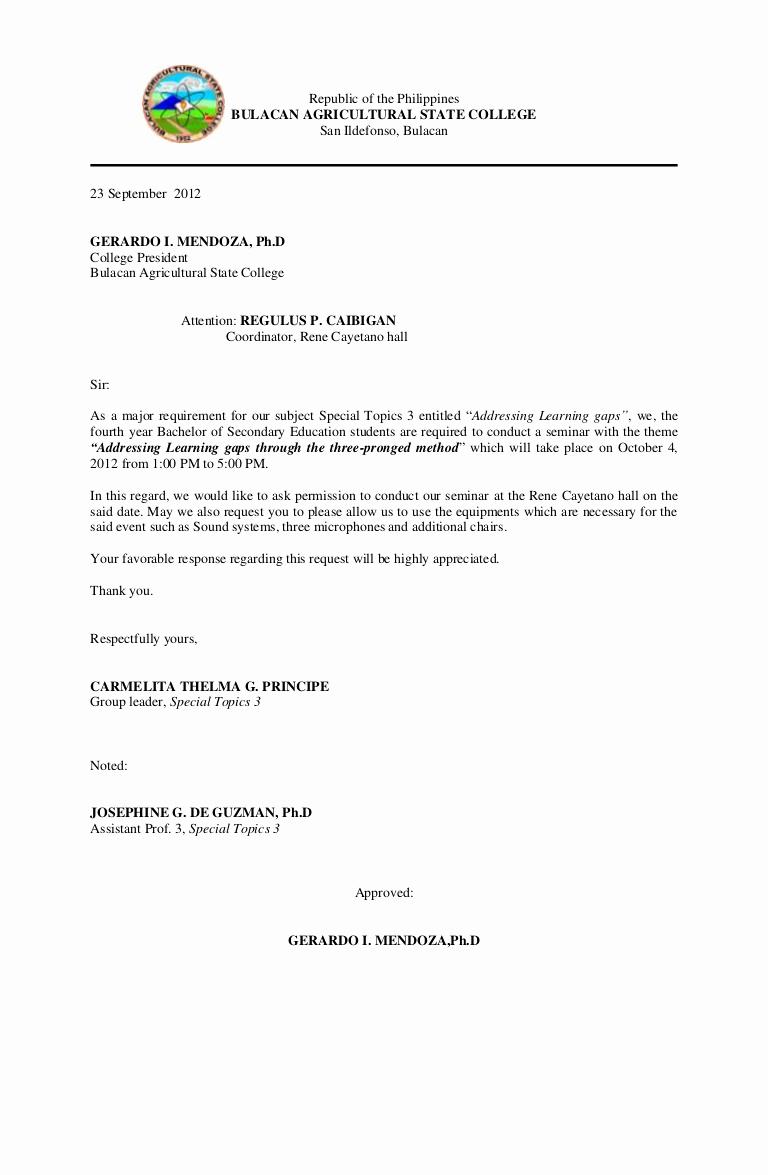 Sample Graduation Invitation Letter Beautiful Munication Letter for Guest Speaker 3