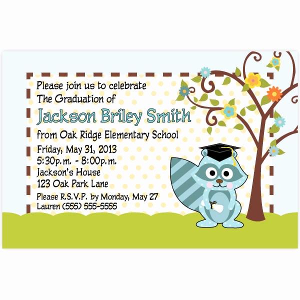 Sample Graduation Invitation Letter Unique Invitation Graduation Kindergarten