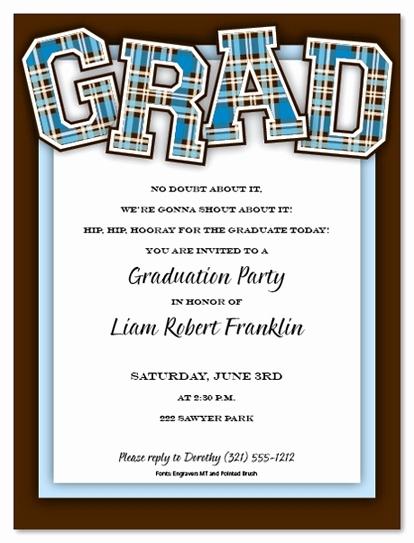 Sample Graduation Invitation Wording Luxury College Graduation Party Invitation Wording Cobypic