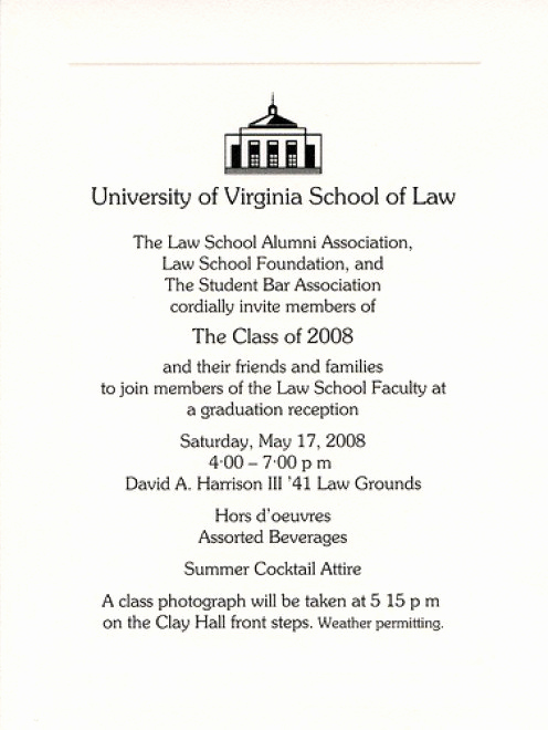 Sample Graduation Invitation Wording New Example College Graduation Invitation