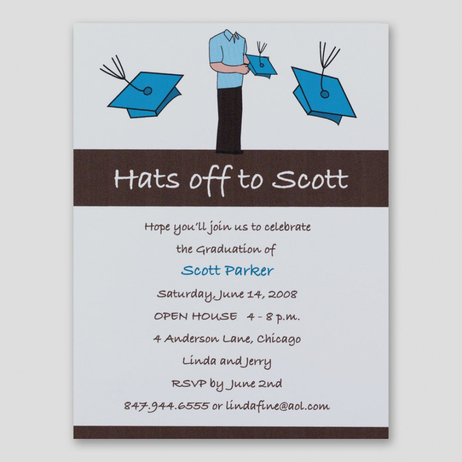 Sample Graduation Party Invitation Unique Sample Graduation Party Invitations