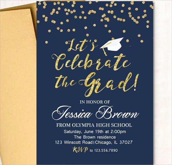 Sample Graduation Party Invitation Wording Beautiful 13 Graduation Invitation Wording Ideas Jpg Vector Eps Ai