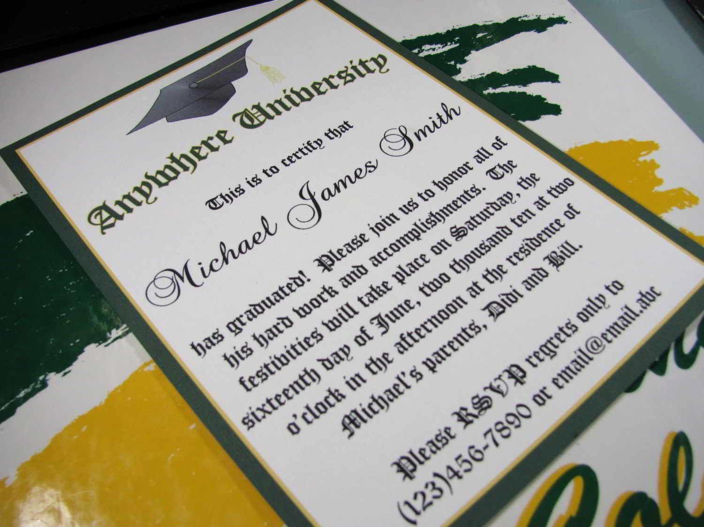Sample Graduation Party Invitation Wording Fresh College Graduation Invitations Wording