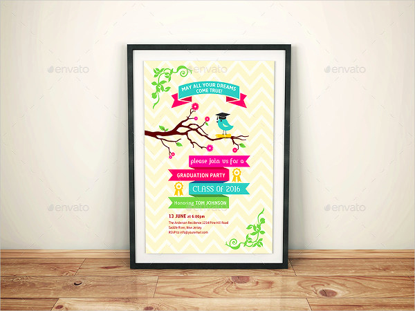 Sample Of Graduation Invitation Cards Awesome 49 Graduation Invitation Designs & Templates Psd Ai