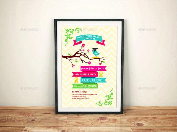 Sample Of Graduation Invitation Cards Awesome 49 Graduation Invitation Designs & Templates Psd Ai