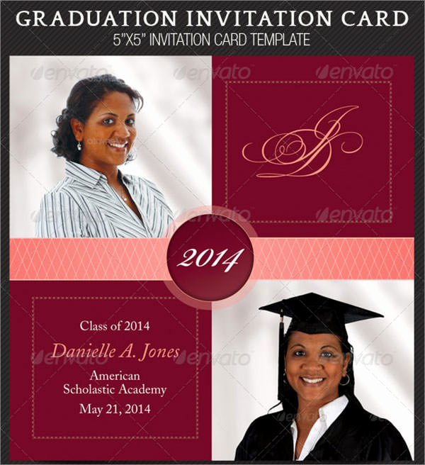 Sample Of Graduation Invitation Cards Inspirational 7 Graduation Invitation Templates