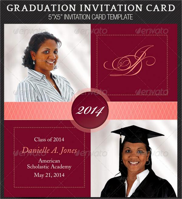 Sample Of Graduation Invitation Cards Inspirational 7 Graduation Invitation Templates