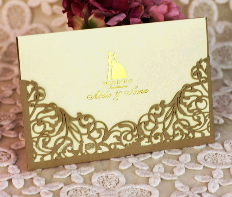 Sample Of Graduation Invitation Cards Unique E Set Sample Laser Cut Wedding Invitations Card with