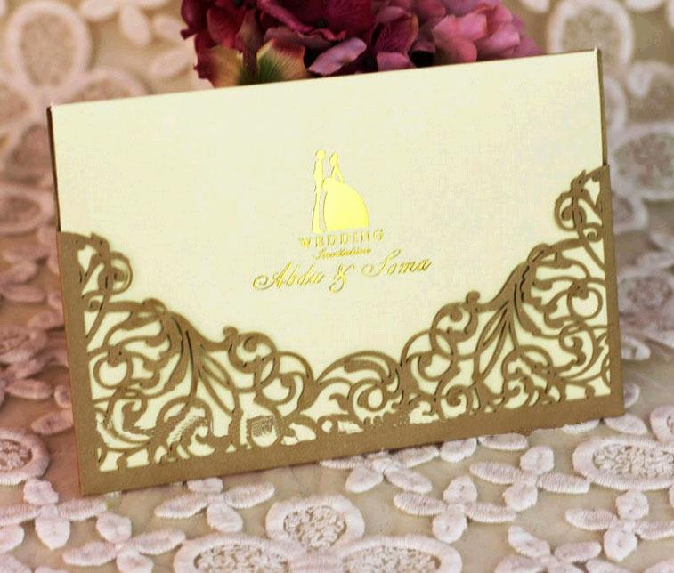 Sample Of Graduation Invitation Cards Unique E Set Sample Laser Cut Wedding Invitations Card with