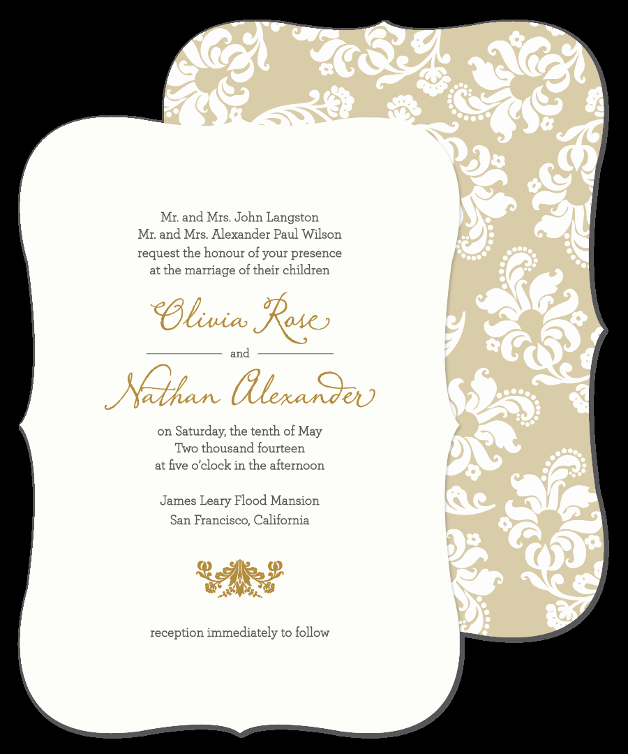 Sample Of Weeding Invitation Elegant Lovable Wedding Card Invitation Sample Wedding Invitations