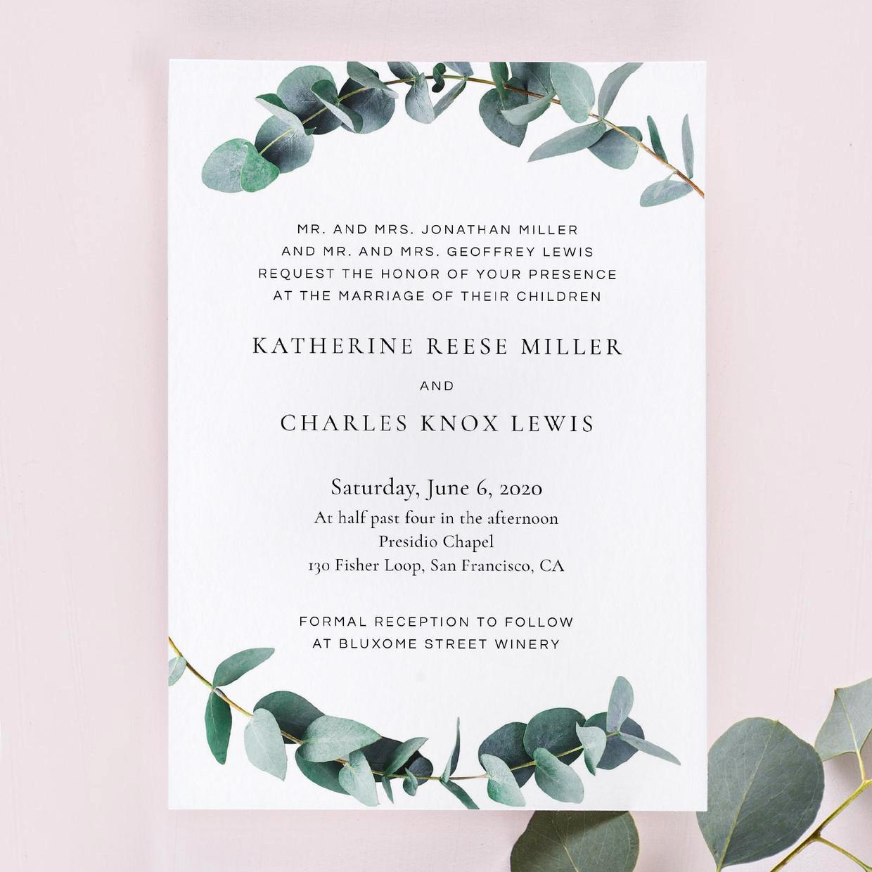 Sample Of Weeding Invitation Fresh Wedding Invitation Wording Examples In Every Style