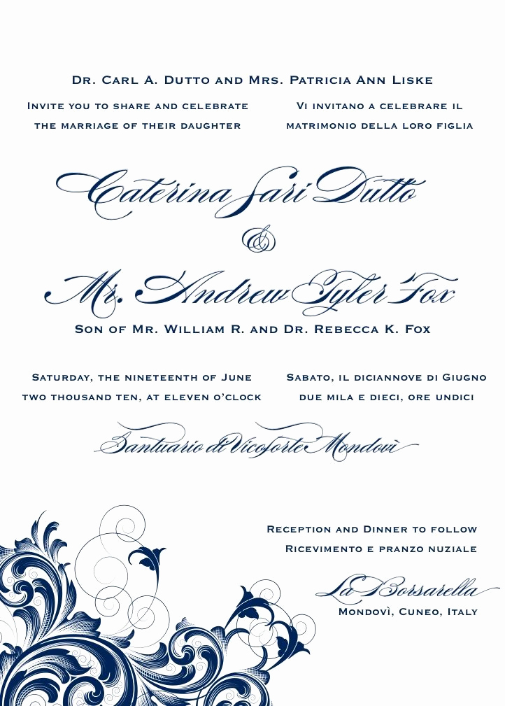 Sample Of Weeding Invitation Unique Best 25 Wedding Announcement Wording Ideas On Pinterest