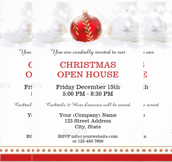 Sample Open House Invitation Fresh 25 Open House Invitation Templates Free Sample Example