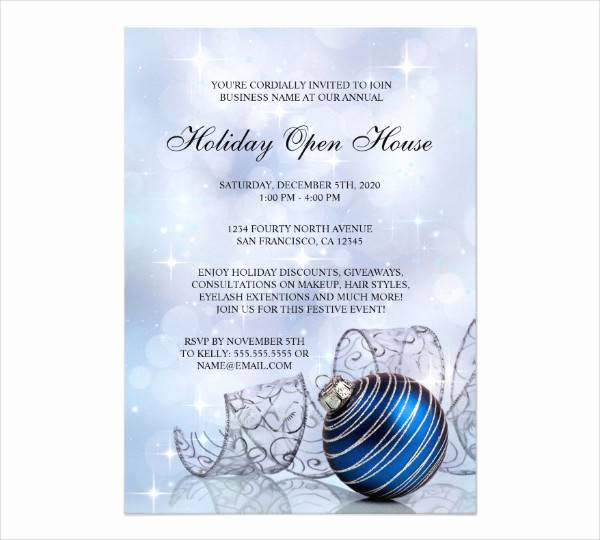 Sample Open House Invitation Fresh 34 Business Invitation Designs & Examples Psd Ai Word