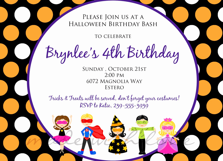 Sample Party Invitation Wording Beautiful Birthday Invitation Wording Samples for Kids