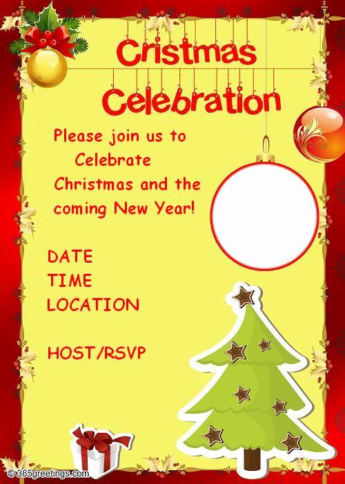 Sample Party Invitation Wording Inspirational Christmas Party Invitations and Christmas Party Invitation