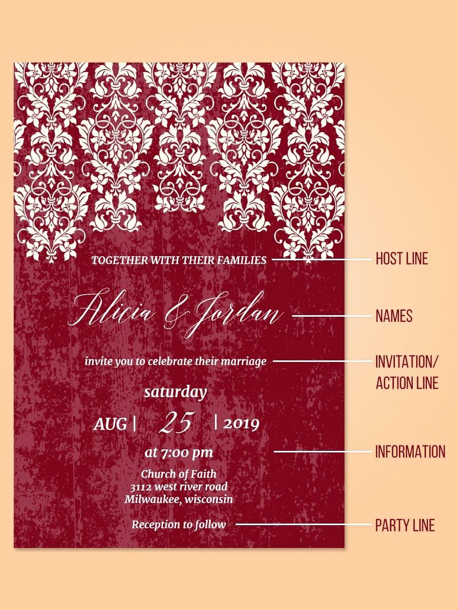 Sample Wedding Invitation Wording Awesome 25 Wedding Invitation Wording Examples and Details