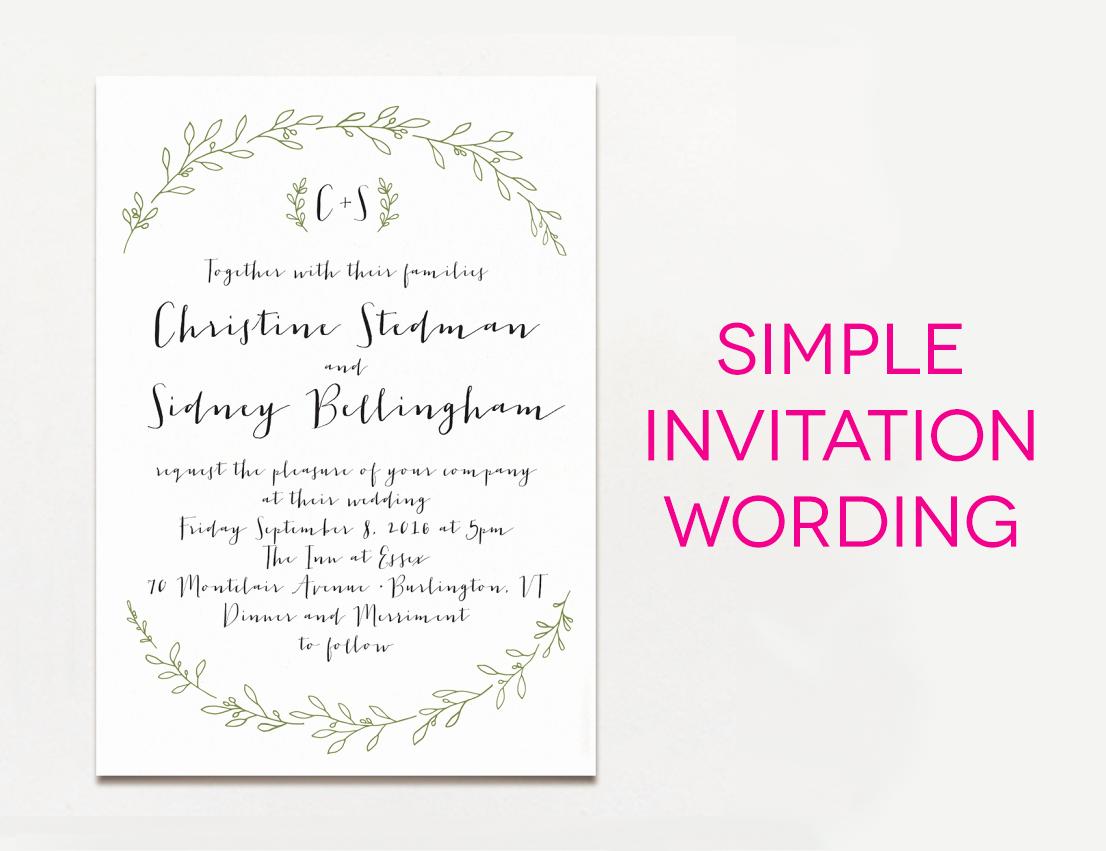 Sample Wedding Invitation Wording Best Of 15 Wedding Invitation Wording Samples From Traditional to Fun