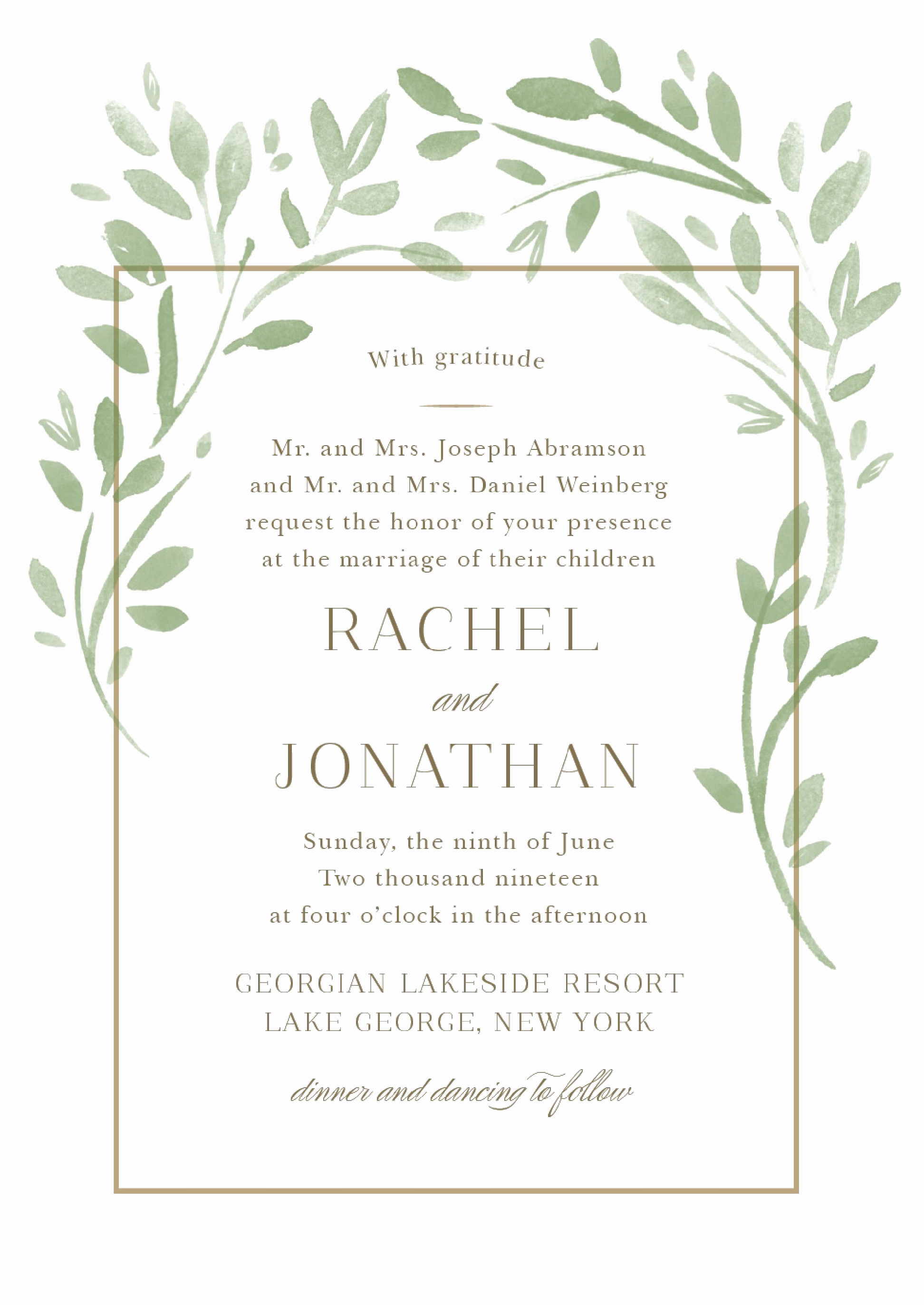 Sample Wedding Invitation Wording Best Of Wedding Invitation Wording Samples