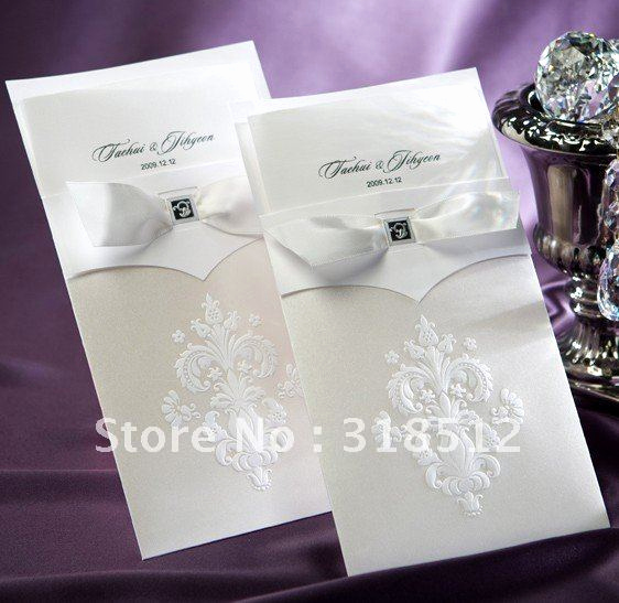 Sample Wedding Invitation Wording Inspirational Elegant Wedding Invitation Sample with Ribbon Free