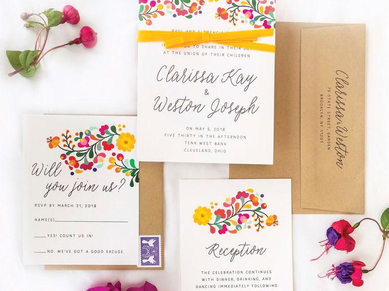 Sample Wedding Invitation Wording Lovely Wedding Invitation Wording Templates Tips and Etiquette