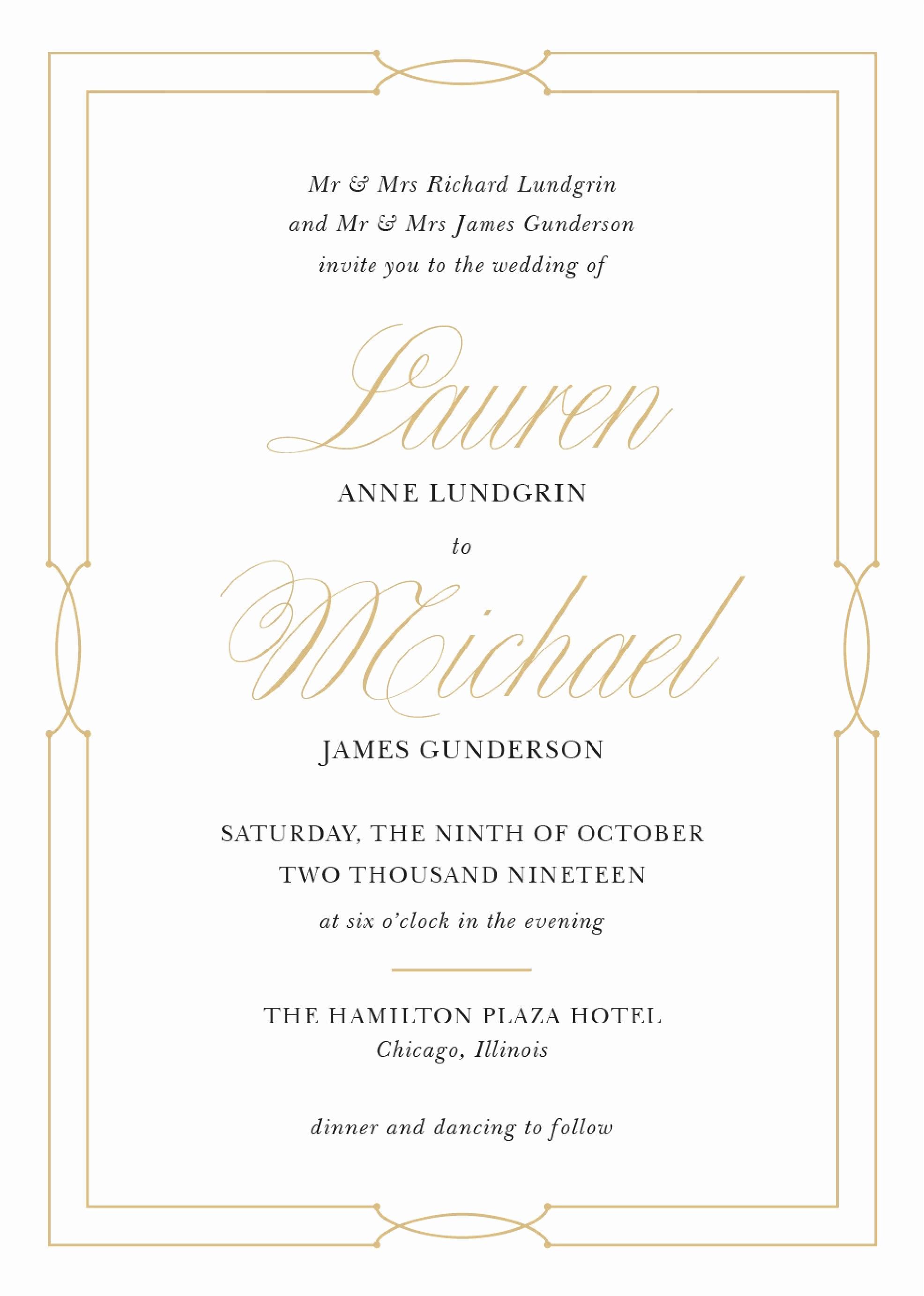 Sample Wedding Invitation Wording Unique Wedding Invitation Wording Samples