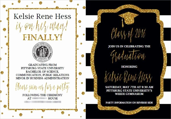 Samples Of Graduation Invitation Luxury 13 Graduation Invitation Wording Ideas Jpg Vector Eps Ai