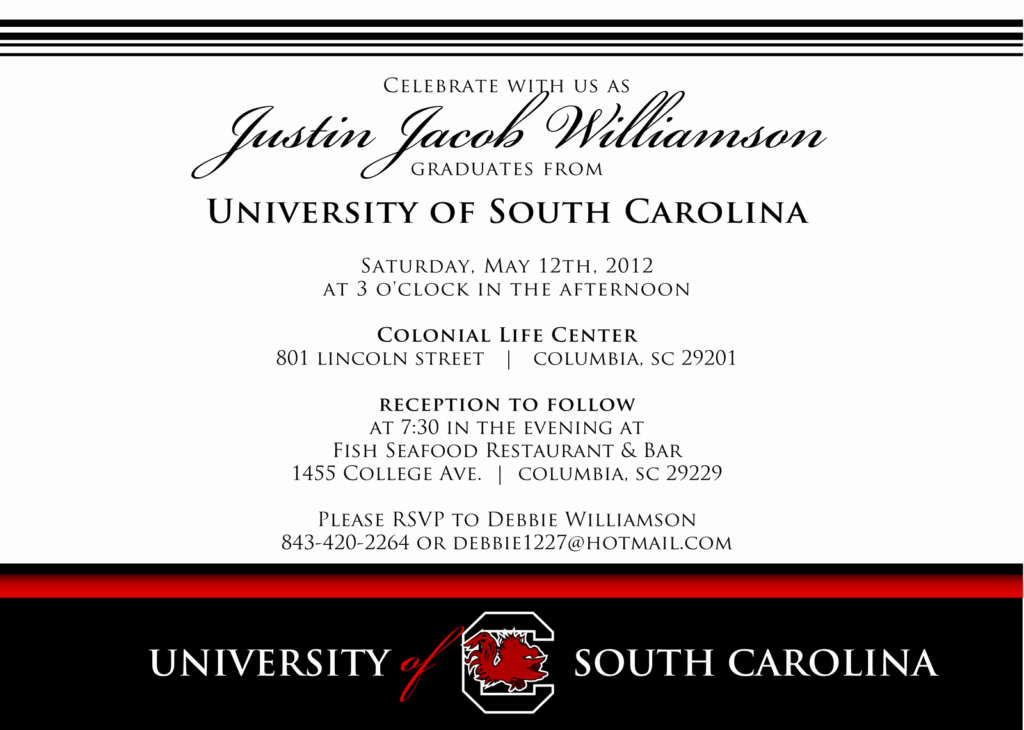 Samples Of Graduation Invitation New Graduation Dinner Invitation Wording