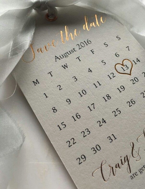 Save the Date Invitation Ideas Awesome Rose Gold Lettering On Save the Date Thick Paper Card