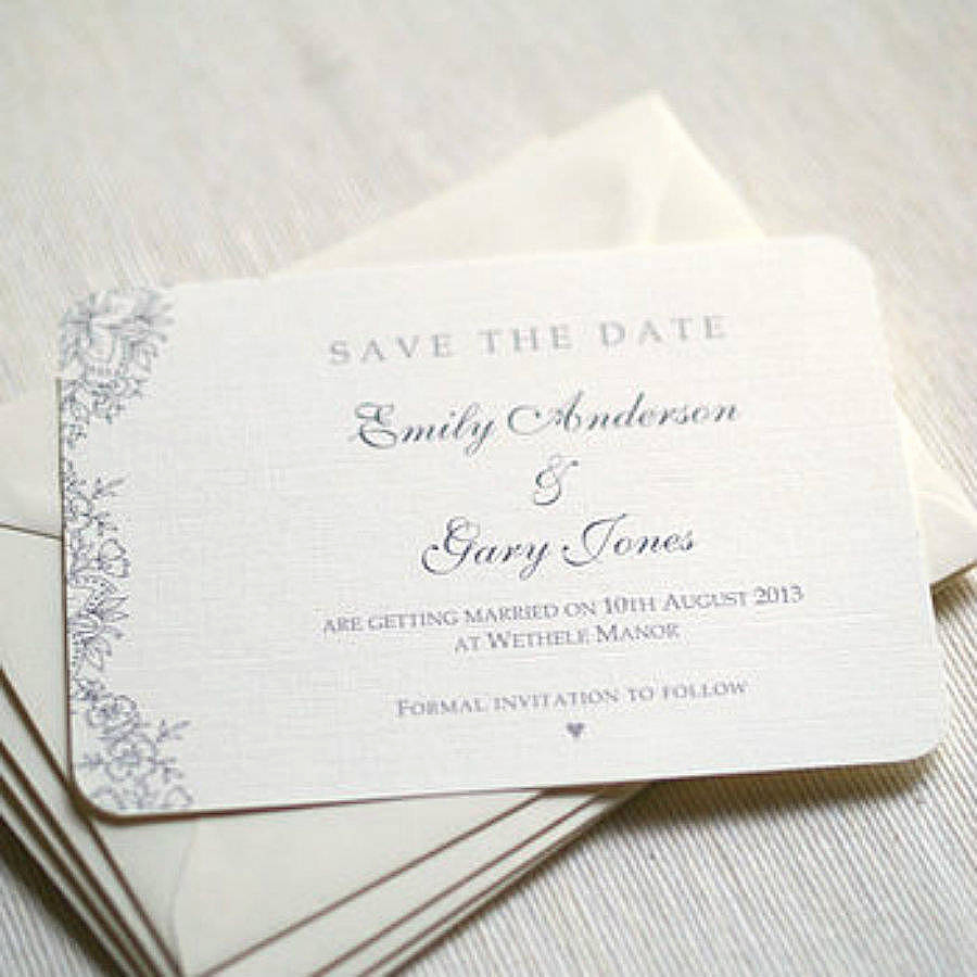 Save the Date Invitation Ideas Best Of Vintage Lace Wedding Save the Date Cards by Beautiful