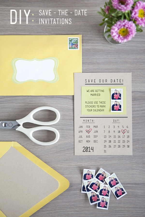 Save the Date Invitation Ideas Elegant How to Make Super Cute Diy Instagram Save the Date
