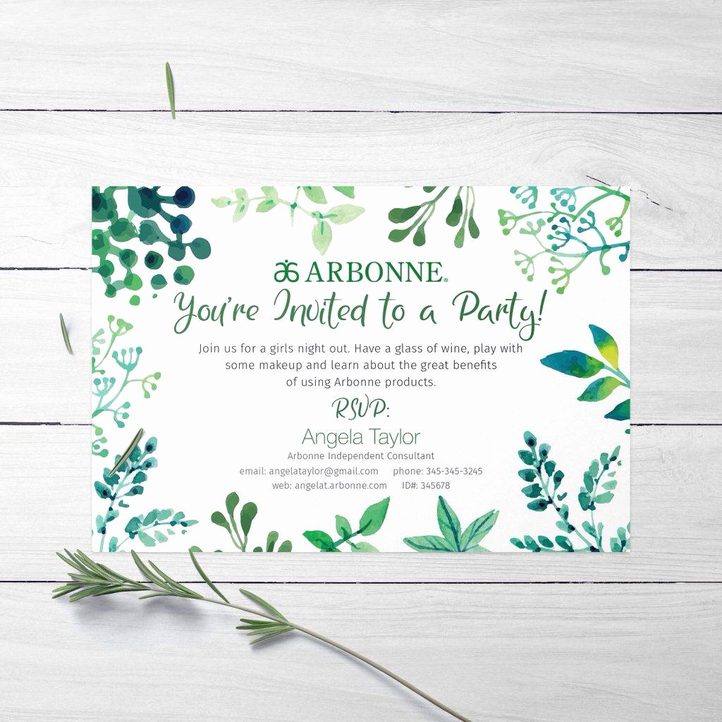 Scentsy Party Invitation Wording Awesome Arbonne Invitation Wording