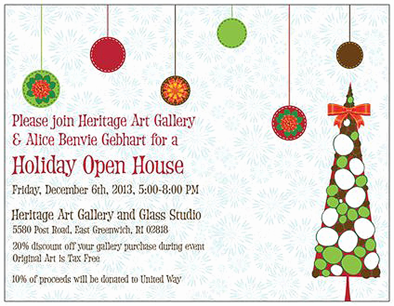 Scentsy Party Invitation Wording Unique Holiday Open House 2013 Invitation Business