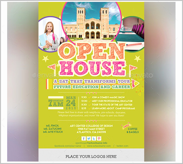 School Open House Invitation Awesome 14 Open House Invitation Templates Free Psd Vector Eps