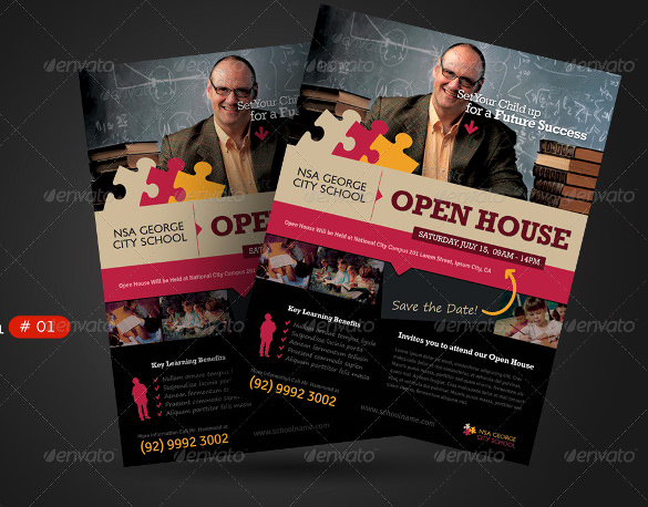 School Open House Invitation Template Best Of 25 Open House Invitation Templates Free Sample Example