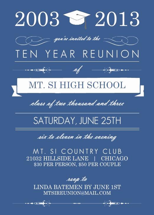 School Reunion Invitation Templates Free Inspirational High School Reunion Wording Ideas Pmhs 50th
