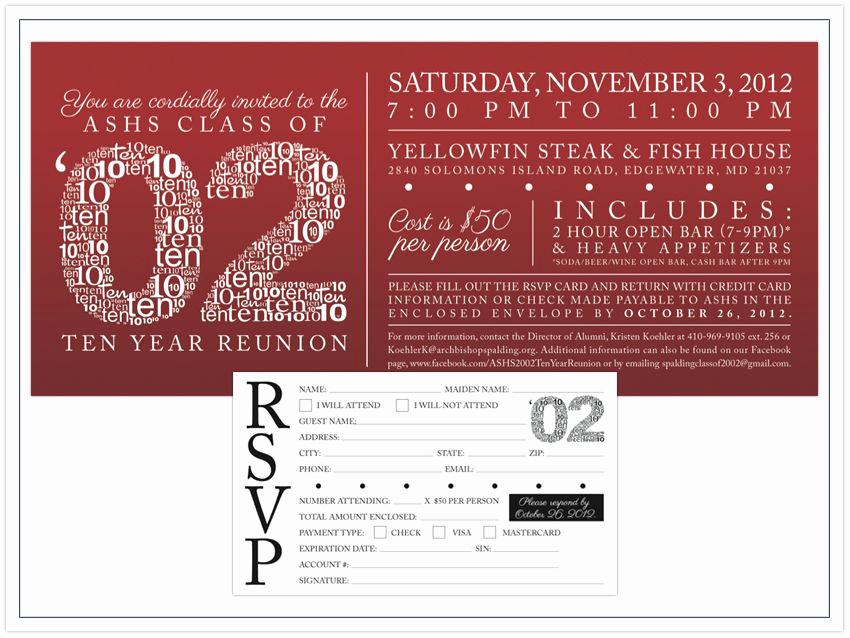 School Reunion Invitation Templates Free Lovely High School Reunion Invitation