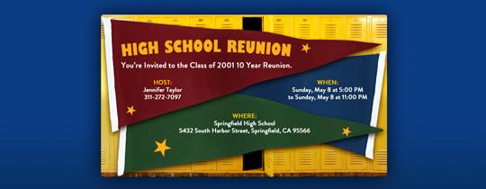 School Reunion Invitation Templates Free Unique Reunions Free Online Invitations