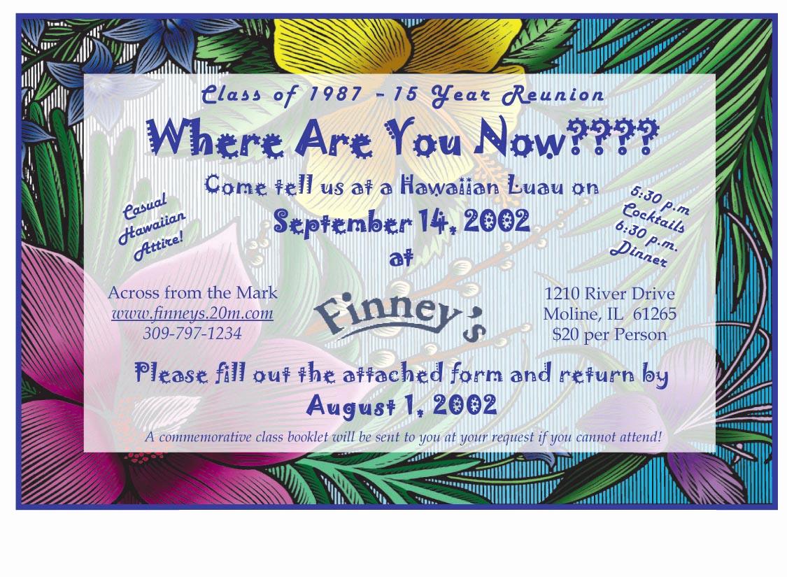 School Reunion Invitation Templates Free Unique School Reunion Invitation Templates