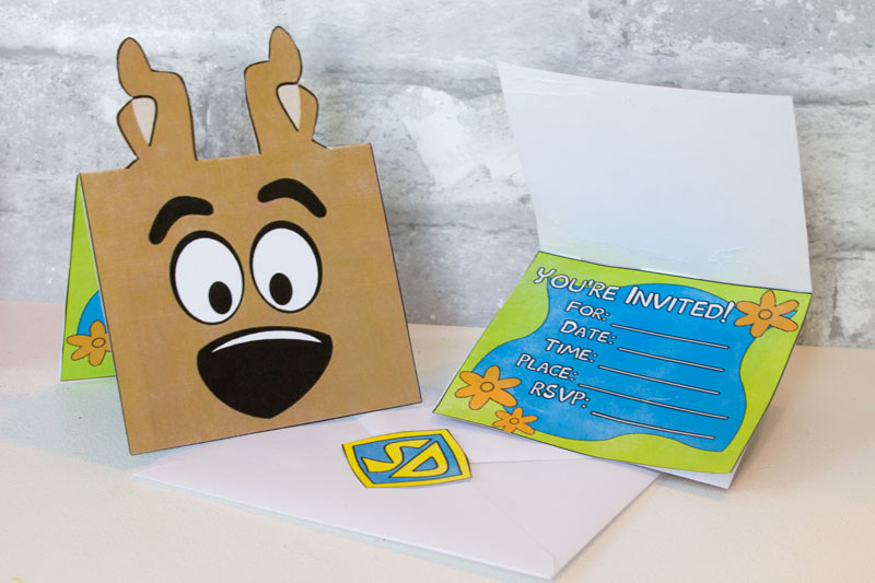 Scooby Doo Invitation Template Best Of Scooby Doo Birthday Party