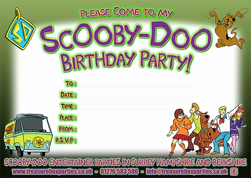 Scooby Doo Invitation Template Unique Free Scooby Doo Downloads to Print at Home – Party