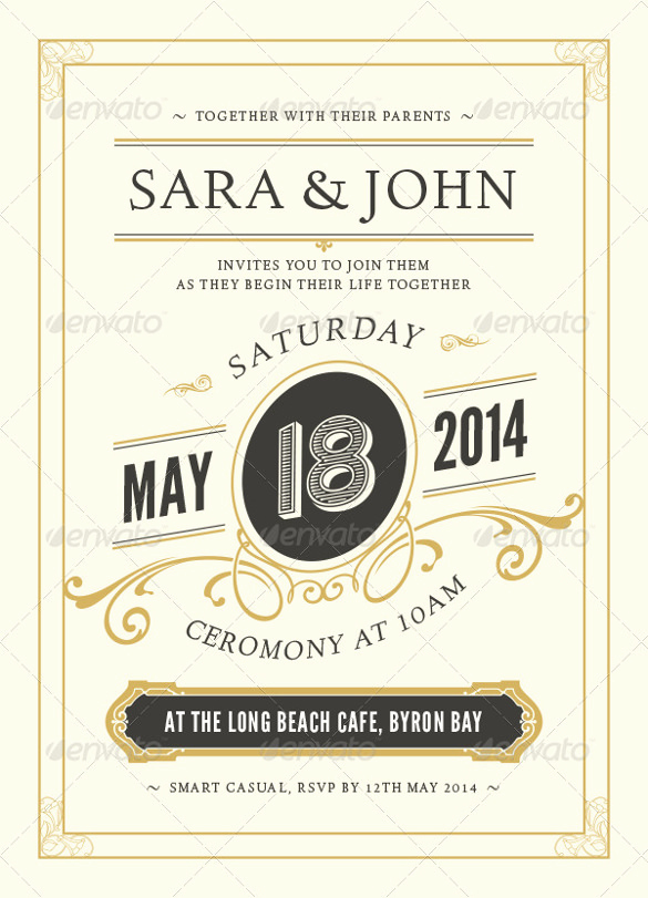 Second Marriage Invitation Wording Lovely 19 Second Marriage Wedding Invitation Templates – Free