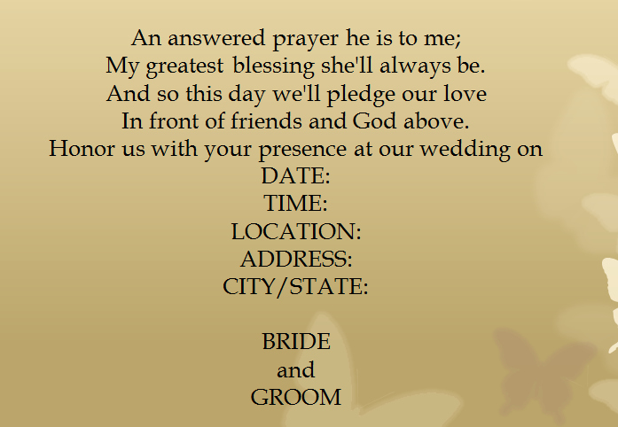 Second Wedding Invitation Wording Awesome 15 Samples for Casual Wedding Invitation Wording